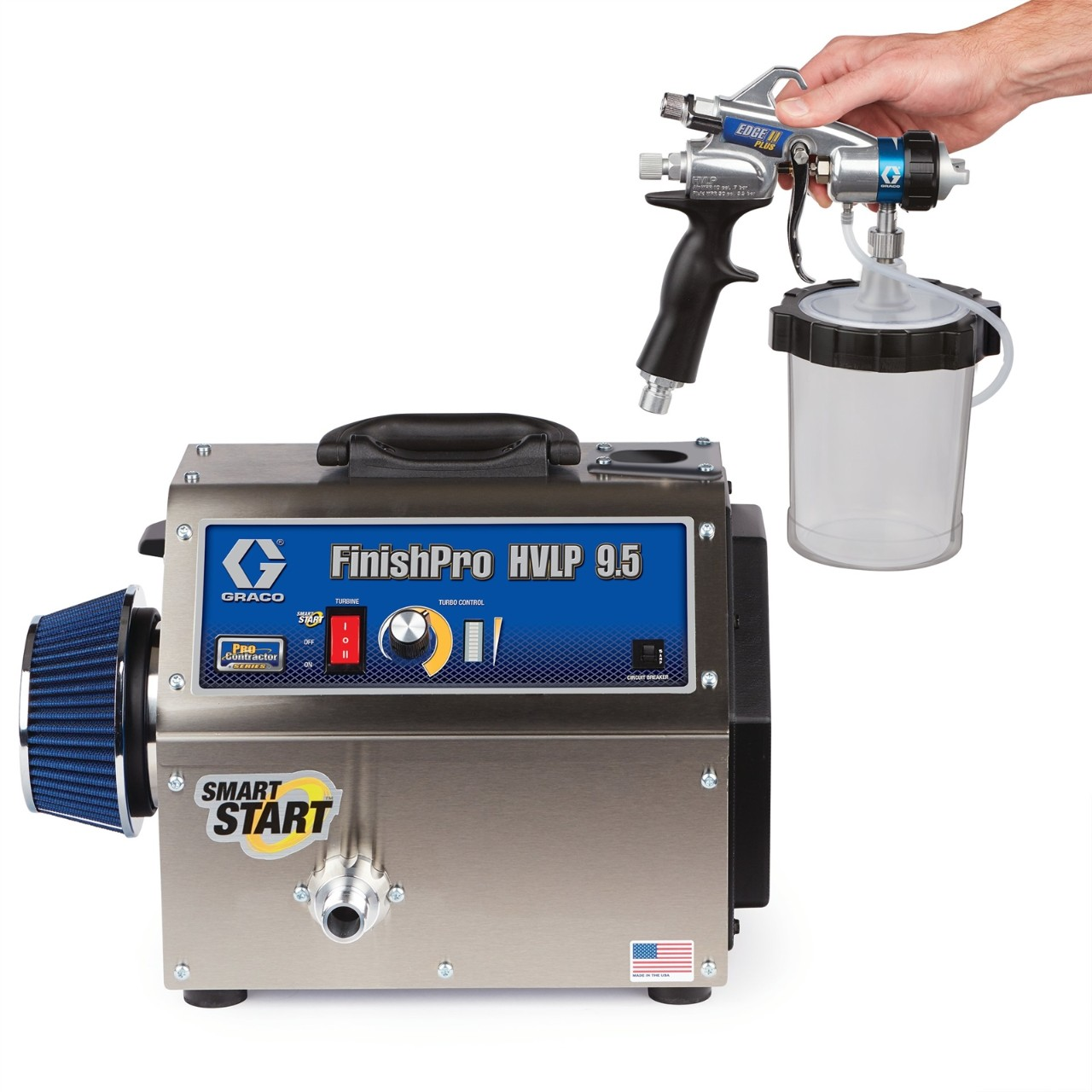 FinishPro HVLP - 9.5 ProContractor Series - Airless Sprayer - ProQuip