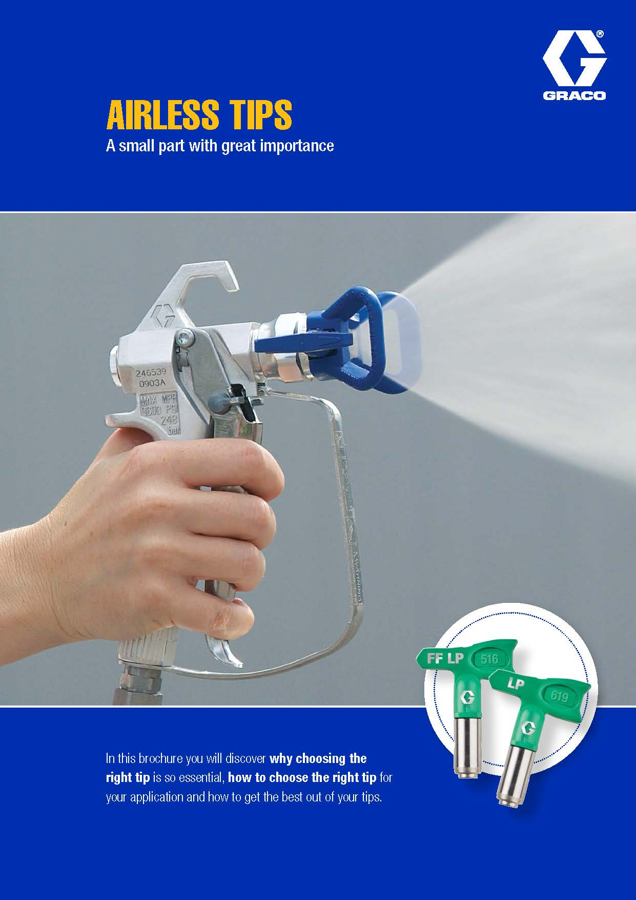 Airless Tips Brochure - ProQuip
